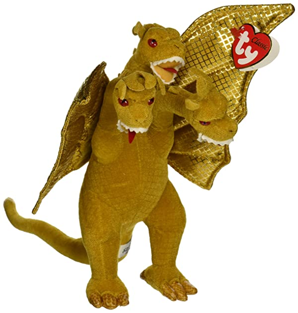 Godzilla King Ghidorah Beanie Babies ~9 Plush (Japanese Import) (Tamaño: 9 inches)