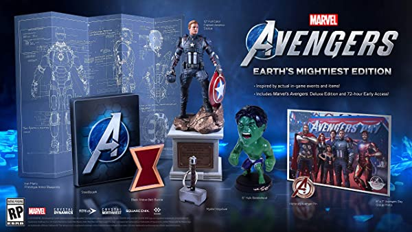 Marvel's Avengers: Earth's Mightiest Edition - PlayStation 4