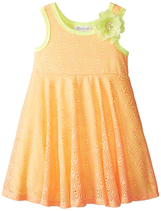 Bonnie-Jean-Little-Girls-Crochet-Knit-Dress