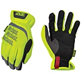Mechanix Wear - Hi-Viz FastFit Work Gloves (X-Large, Fluorescent Yellow) (Color: Fluorescent Yellow, Tamaño: X-Large)