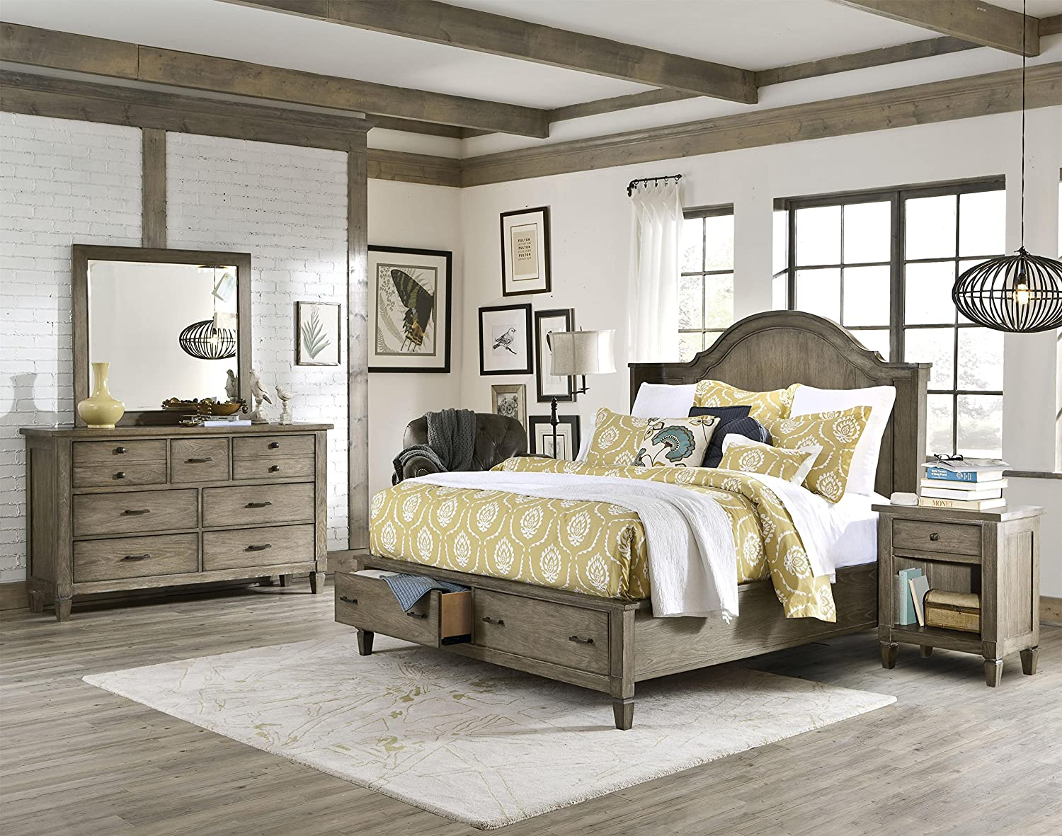Brownstone Bedroom Set #furniture