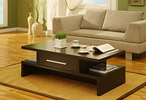Lark Rectangular 1-Drawer Coffee Table