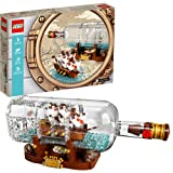 LEGO IDEAS 21313 Ship in a Bottle 962 piece set
