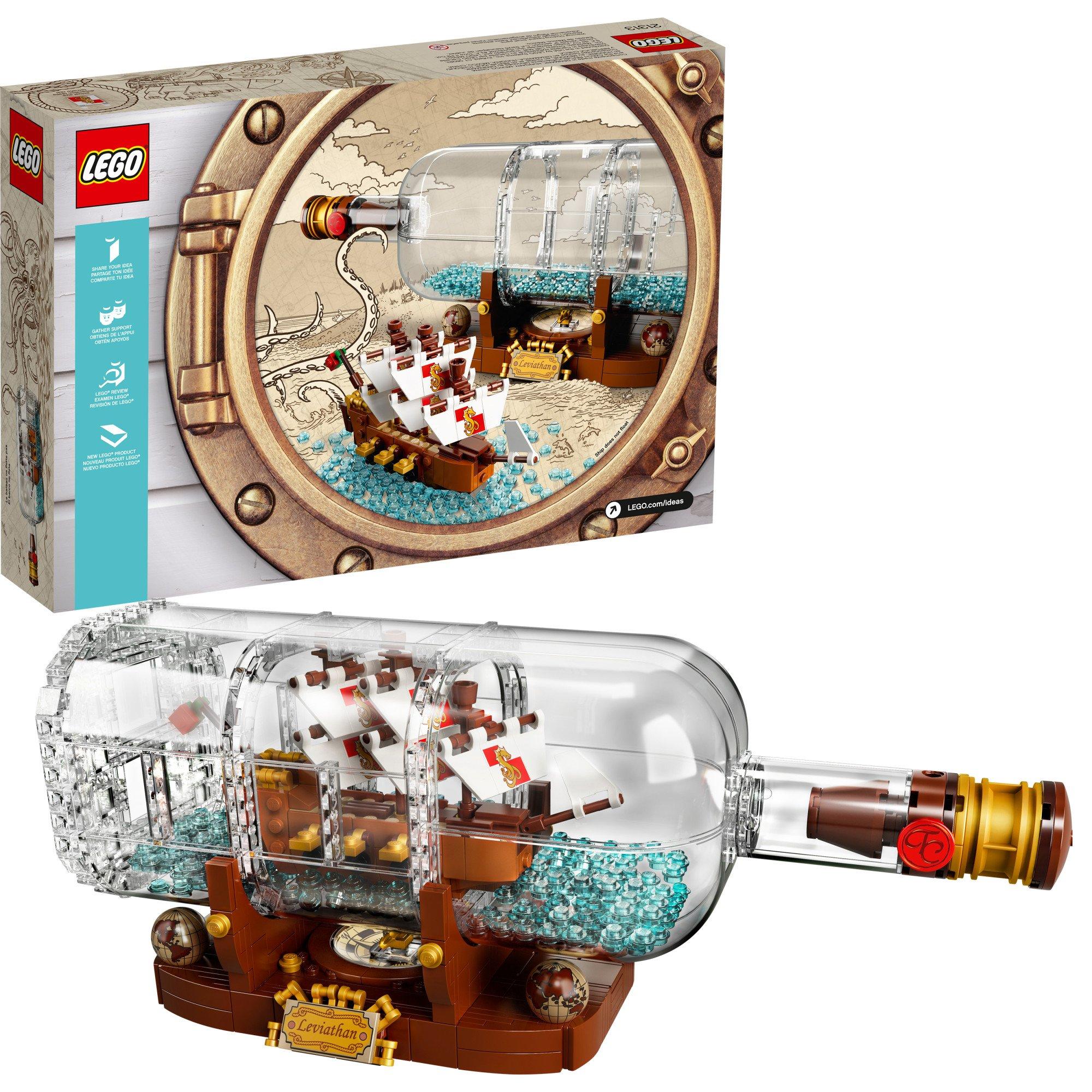 Bottle Ship Lego Ideas