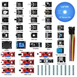 LAFVIN 37 in 1 Sensor Module Kit for Arduino UNO R3 Mega2560 Mega328 Nano with Tutorial