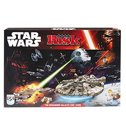 Habro – Star Wars – Risk – Jeu de Societé Version Anglaise