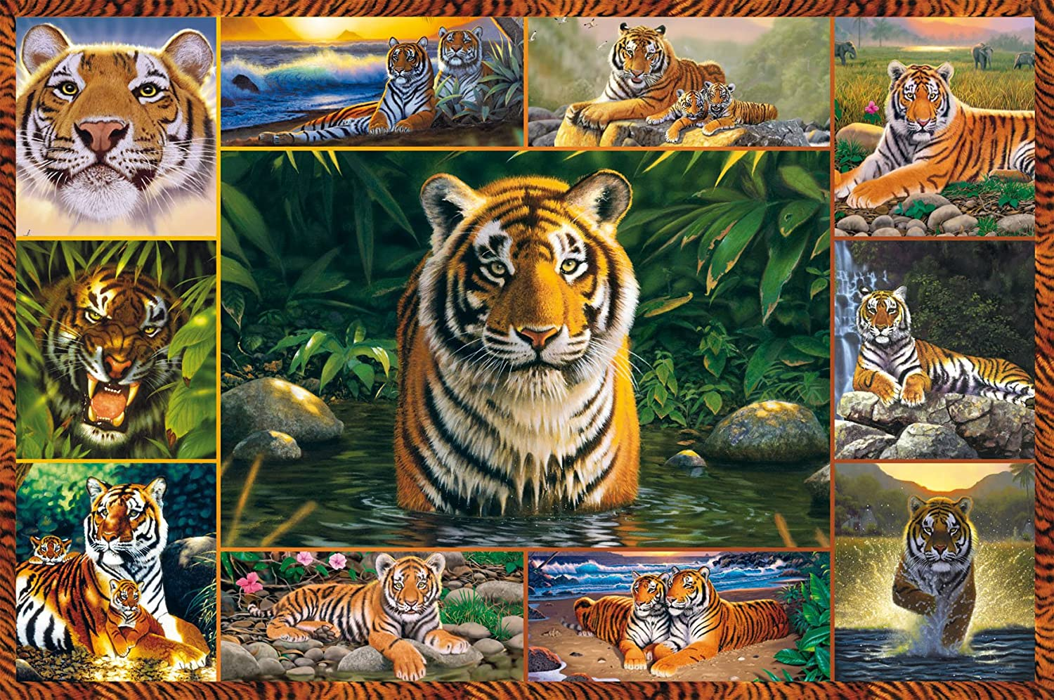 ravensburger tiger 5000