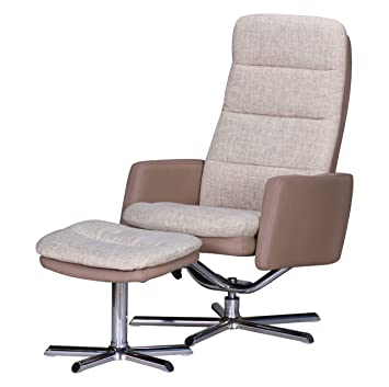 Wohnling tv sessel relax fernsehsessel mit for Relaxsessel grau stoff