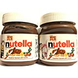 Nutella Hazelnut Spread With Cocoa - Net Wt. 13 OZ (371 g) Per Jar - Pack of 2 Jars (Packaging Varies)