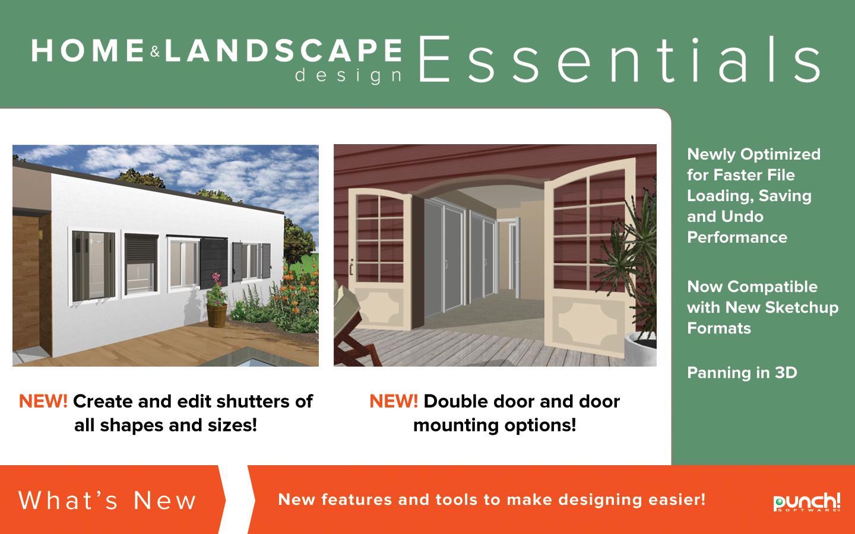 Punch Home Landscape Design Essentials V19 Home