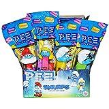 Pez Smurfs Candy Dispenser (Pack of 12) (Tamaño: 12 Pack)