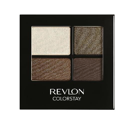 REVLON Colorstay 16 Hour Eye Shadow Quad, Adventurous, 0.16 Ounce