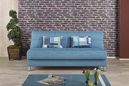 Eco Plus Sofa Bed   Prusa Blue