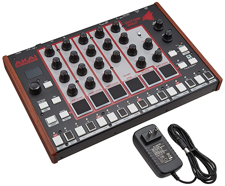 akai professional rhythm wolf analog drum machine and bass synthesizer 0694318015971 buy new. Black Bedroom Furniture Sets. Home Design Ideas