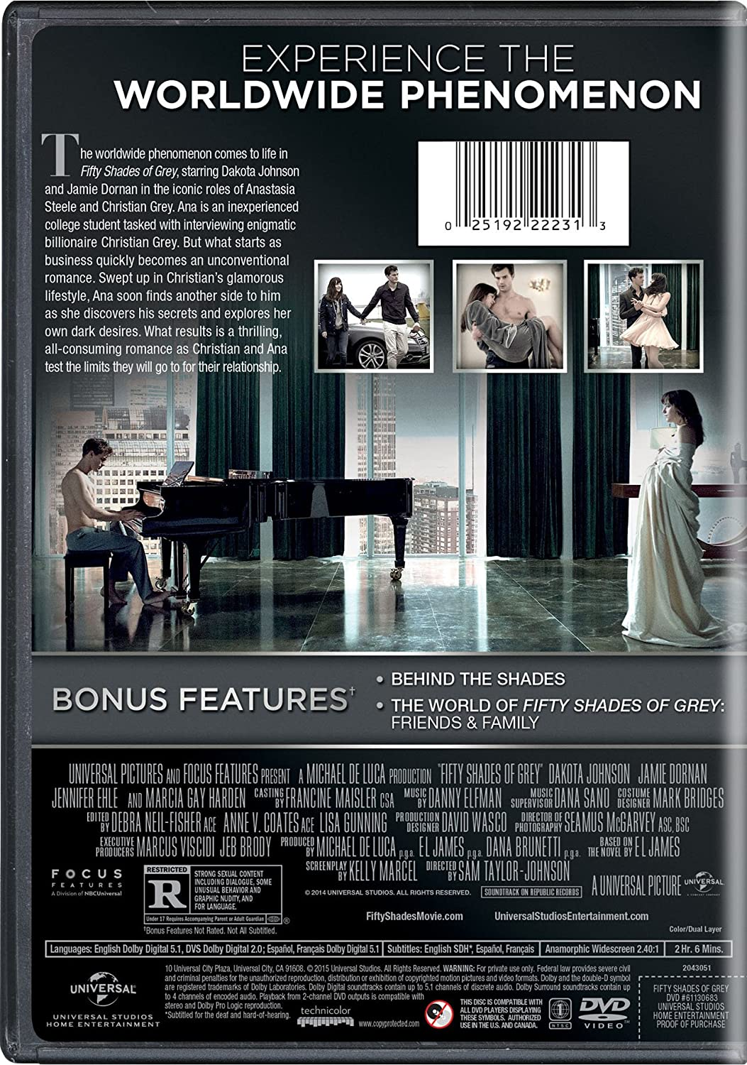 Fifty shades of grey blu ray movie online neo gifts for 50 shades of grey films