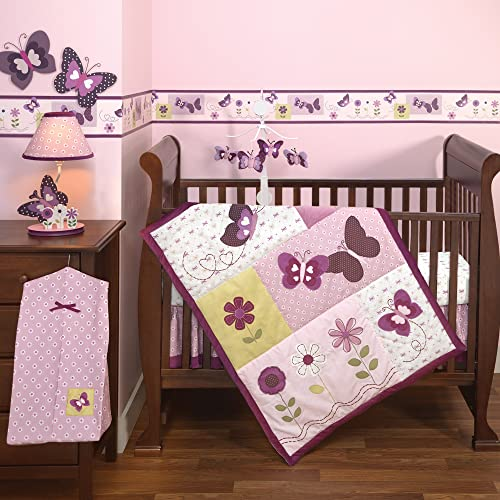 Bedtime Originals Provence 3 Piece Bedding Set Purple