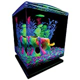 GloFish 1.5 Gallon Aquarium Kit with Hood, LEDs and Whisper Filter (Tamaño: 1.5-Gallon)