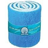 Koi Pond & Aquarium Filter Media (6 ft roll) (Color: Blue, Tamaño: 6 ft roll)