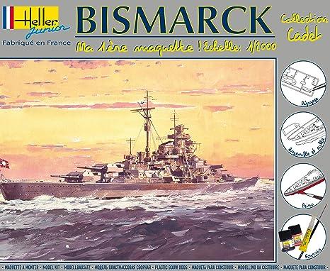 Heller Junior - 49051 - Maquette - Cuirasse Bismarck