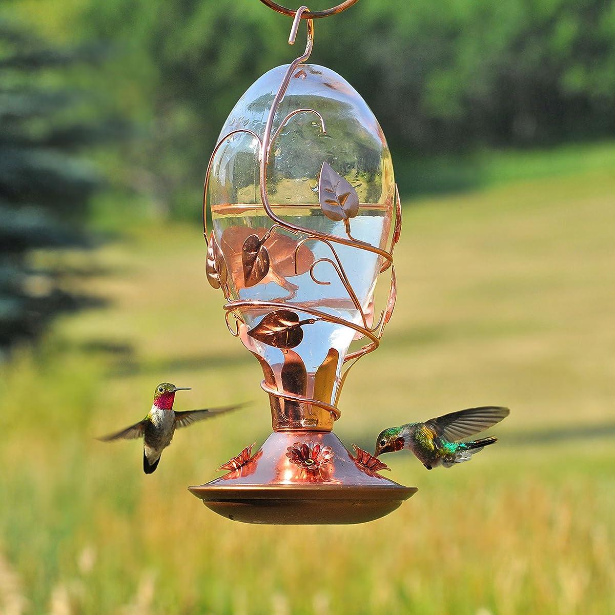 Perky-Pet Looking Glass Hummingbird Feeder
