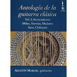 Agustin Maruri: Antologia de la guitarra clasica, Vol. 1 - Renacimento [Blu-ray]