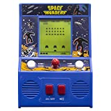 Arcade Classics - Space Invaders Retro Mini Arcade Game (Color: Blue, Tamaño: One Size Fits All)