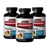 Natural diet aid - AFRICAN MANGO EXTRACT with Green Tea, Resveratrol, Kelp, Grapefruit 1200 Mg - Irvingia gabonensis supplements - 3 Bottles 180 capsules