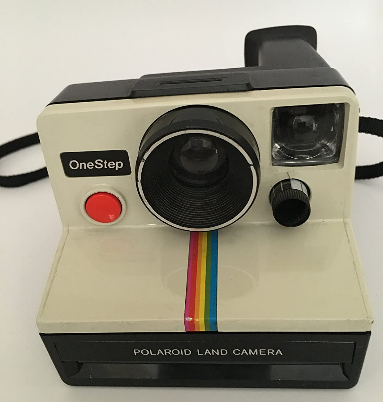 Polaroid OneStep SX-70 White/Rainbow Camera 1