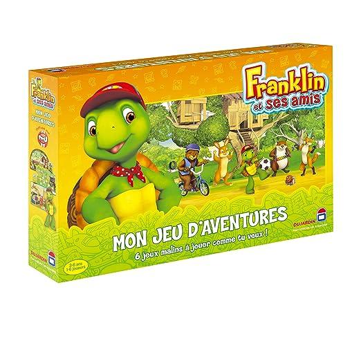 Dujardin - 45729 - Jeu de Société - Franklin mon Jeu d'aventure