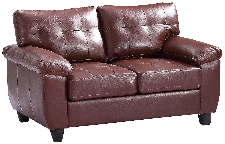 Glory Furniture G900A-L Loveseat - Brown