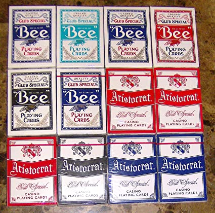 Aristocrat and Bee Casino Playing Cards Lot of 12 Perfect Gift for the Card Collector