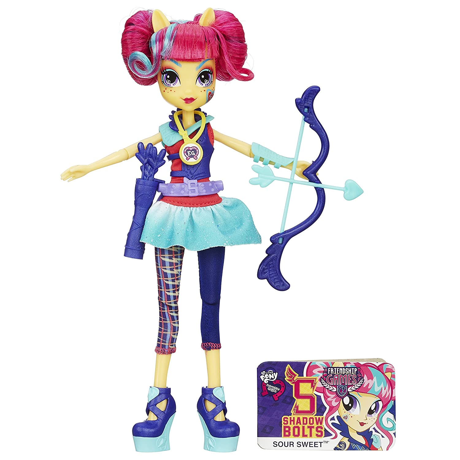 My Little Pony Equestria Girls Sour Sweet Doll скейтборд sweet raspberry my area