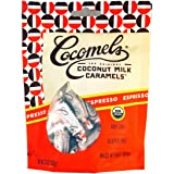 Espresso Cocomels Coconut Milk Caramels - Organic - Made Without Dairy - Kosher - GMO Free - Espresso 1 Pack