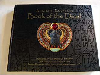 Ancient Egyptian Book of the Dead written by Raymond O. Faulkner