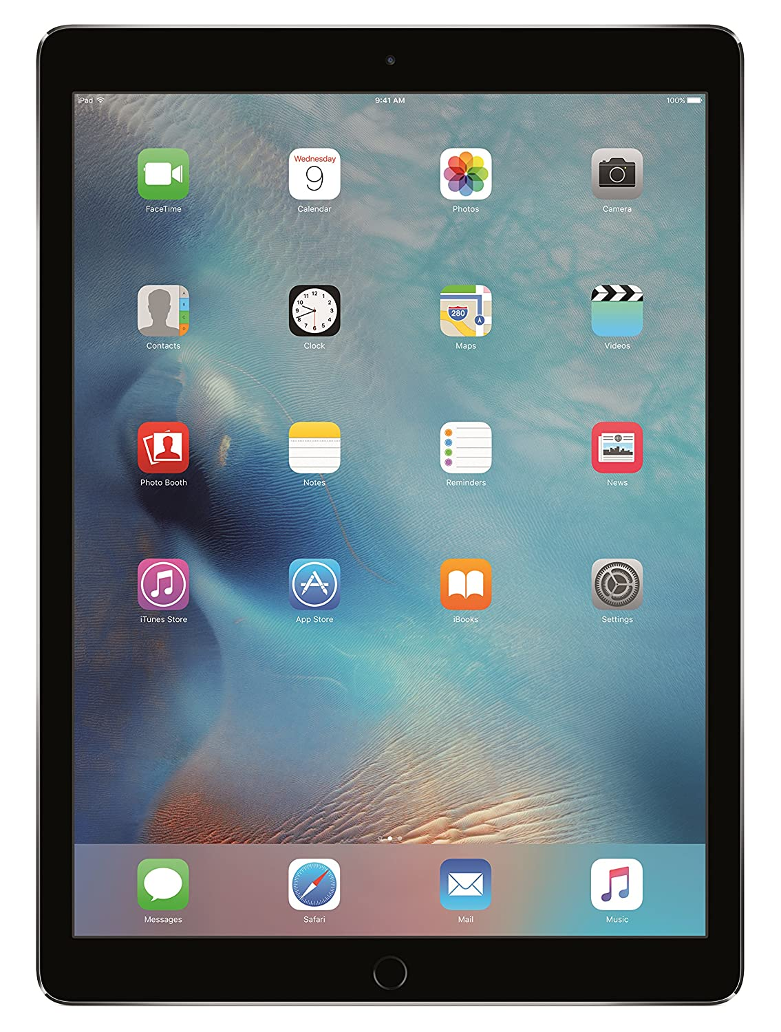 "Apple iPad Pro (128GB, Wi-Fi, Space Gray) - 12.9"" Display"
