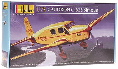 Heller - 80208 - Maquette - Caudron C635 Simoun - Echelle 1/72