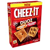 Cheez-It Duoz Baked Snack Cheese Crackers and Pretzels, Cheddar Jack and Sharp Cheddar Pretzel, 9 oz