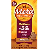 Metamucil MultiGrain Fiber Wafers Cinnamon Spice - 12ct (Tamaño: 12)