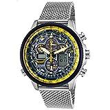 Citizen Men's Eco-Drive Blue Angels Navihawk A-T Watch (Color: Silver)