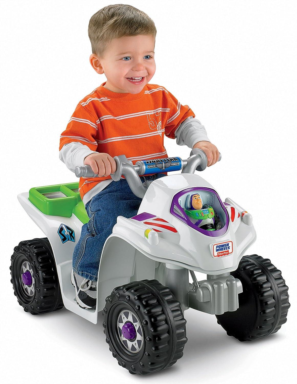 Cuatrimoto Power Wheels Disney Pixar Toy Story 3 Que
