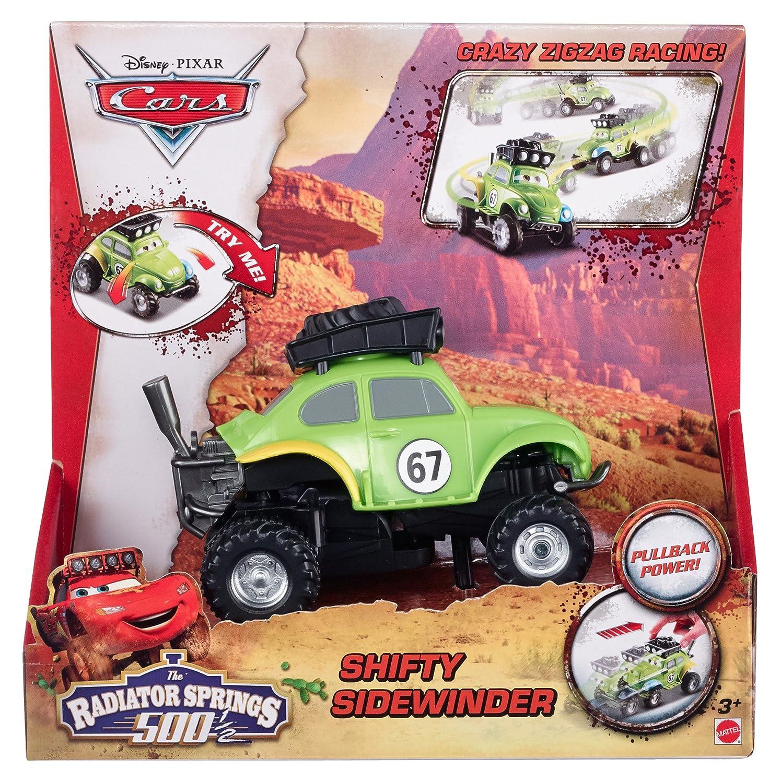 Disney/Pixar Cars Radiator Springs 500 1/2 Wild Racer Shifty Sidewinder Pullback Vehicle