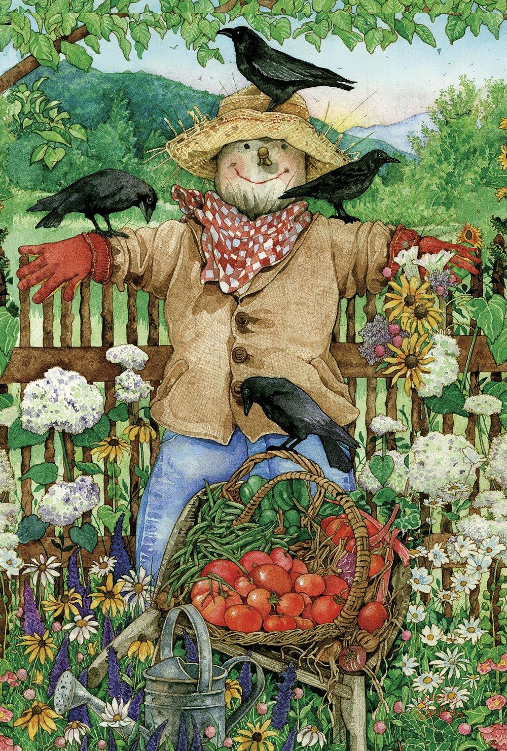 Thanksgiving Scarecrows Garden Flags Thanksgiving Wikii