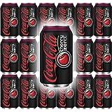 Coke Zero Cherry Flavor, 12 Oz can (Pack of 18, Total of 216 Fl Oz)