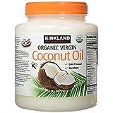 Kirkland Signature Cold Pressed Unrefined Organic Virgin Coconut Oil, 84 Ounce (Tamaño: Virgin Coconut Oil 84 OZ)
