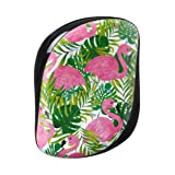 Tangle Teezer x Skinny Dip Compact Styler Detangling Hairbrush, Palm Print (Color: Palm Print)