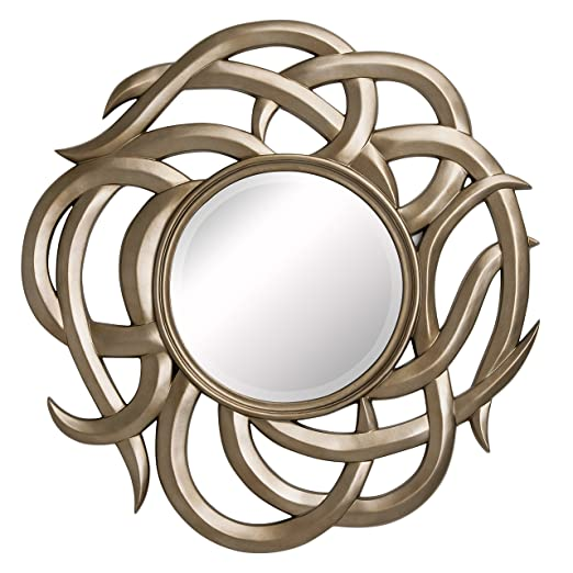 Premier Housewares Chirico Wall Mirror Champagne