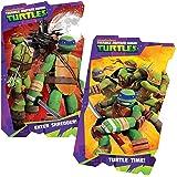 Teenage Mutant Ninja Turtles Board Book Set (2 Shaped Board Books)