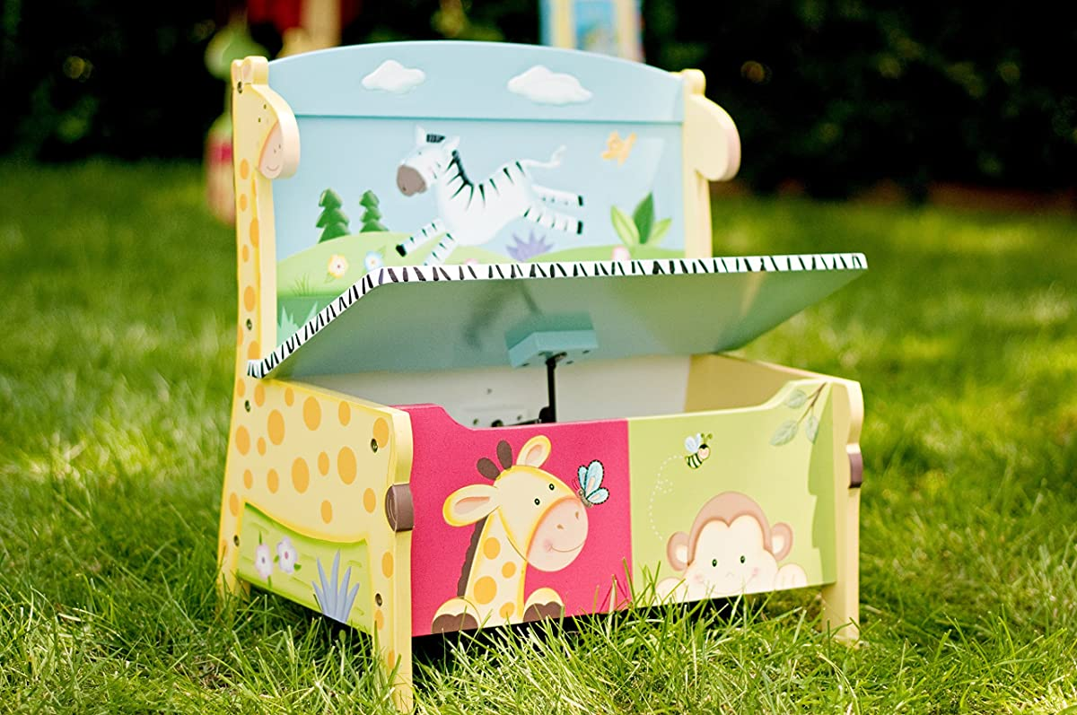 Kids Storage Bench| Lead Free Water-based Paint