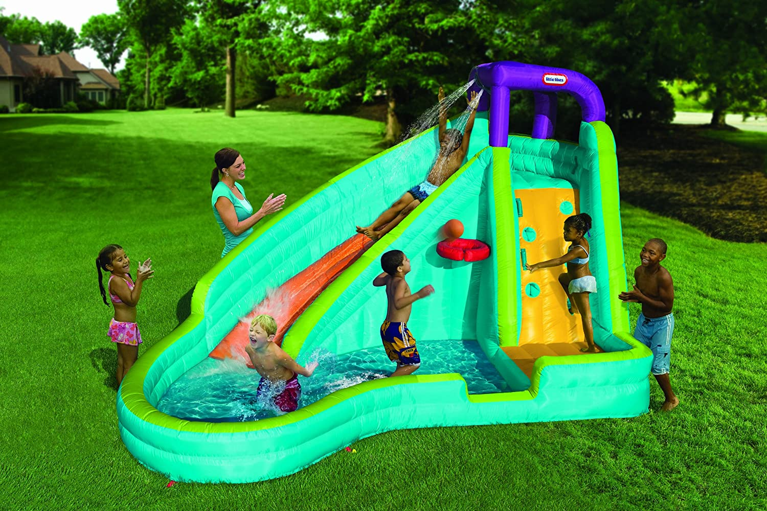 Best Backyard Slide and Waterslide Sets For Kids