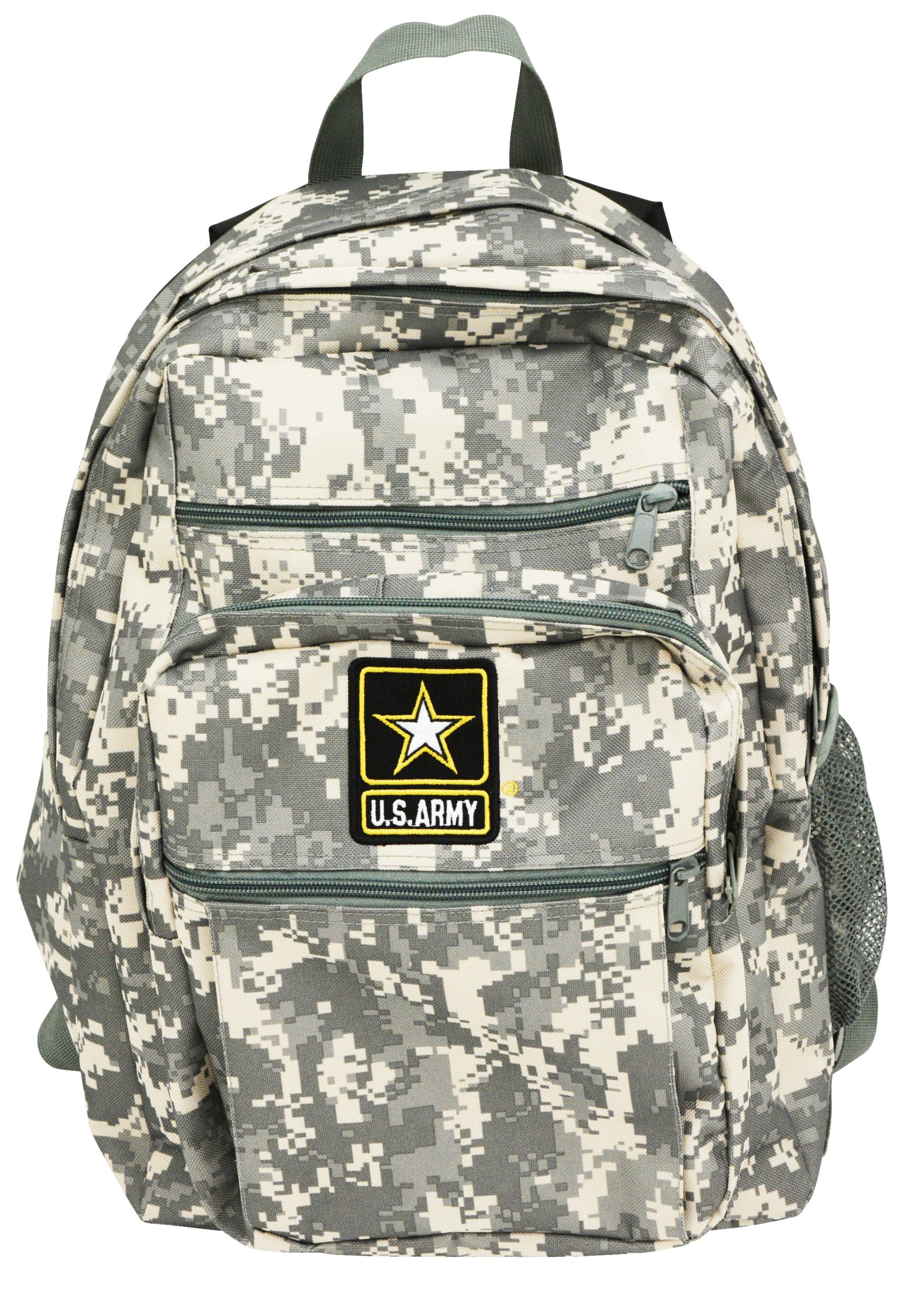 Official US Army Strong Military Backpack Bag Digital Camouflage Camo Print |...